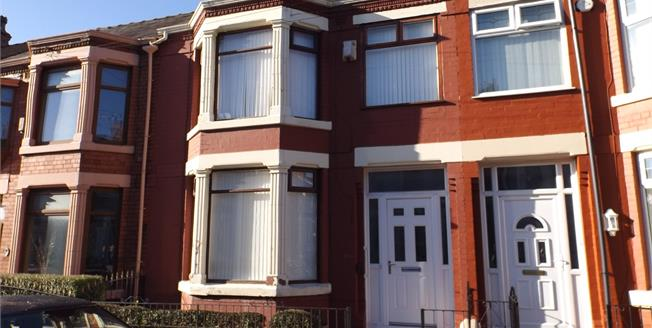 Asking Price £95,000, 3 Bedroom Terraced House For Sale in Liverpool, L9