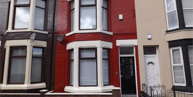 Offers in excess of £69,950, 3 Bedroom Terraced House For Sale in Liverpool, L4