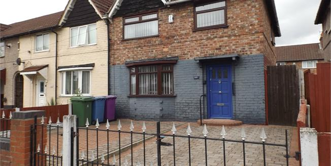 Asking Price £90,000, 3 Bedroom End of Terrace House For Sale in Liverpool, L4