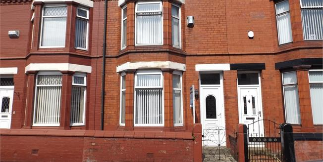 Asking Price £97,000, 3 Bedroom Terraced House For Sale in Liverpool, L9