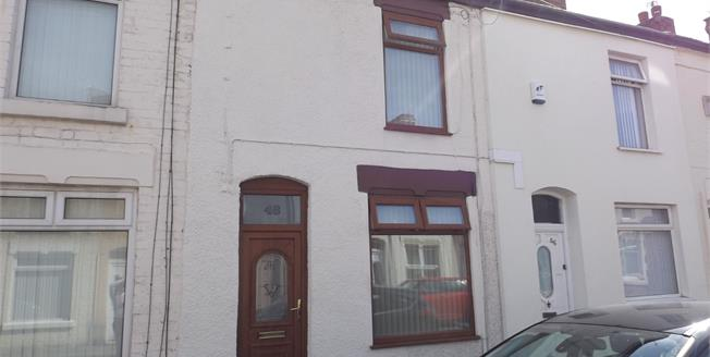 Offers Over £50,000, 2 Bedroom Terraced House For Sale in Liverpool, L4