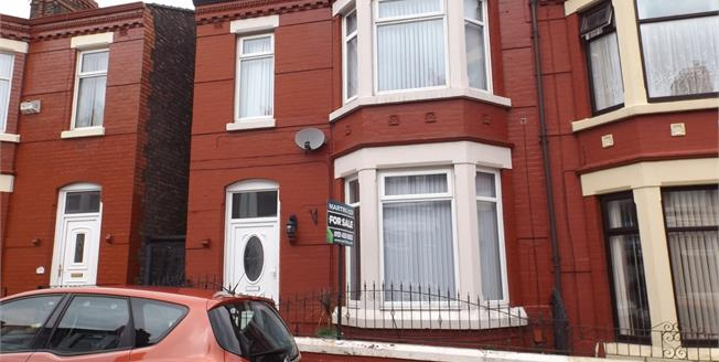 Offers Over £80,000, 3 Bedroom End of Terrace House For Sale in Liverpool, L4