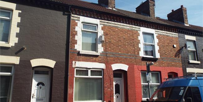 Offers Over £40,000, 2 Bedroom House For Sale in Liverpool, L4