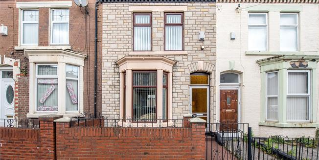 Offers Over £60,000, 2 Bedroom Terraced House For Sale in Walton, L4