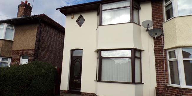 Asking Price £130,000, 3 Bedroom Semi Detached House For Sale in Liverpool, L9