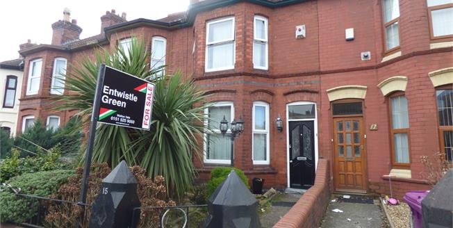 Offers Over £115,000, 3 Bedroom Terraced House For Sale in Liverpool, L9