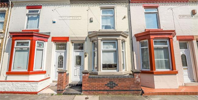 Offers Over £65,000, 2 Bedroom Terraced House For Sale in Liverpool, L4
