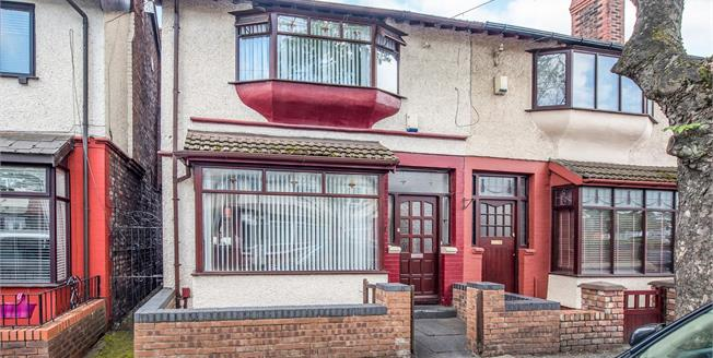 Asking Price £180,000, 4 Bedroom Semi Detached House For Sale in Liverpool, L9