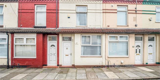 Offers Over £75,000, 2 Bedroom Terraced House For Sale in Walton, L9