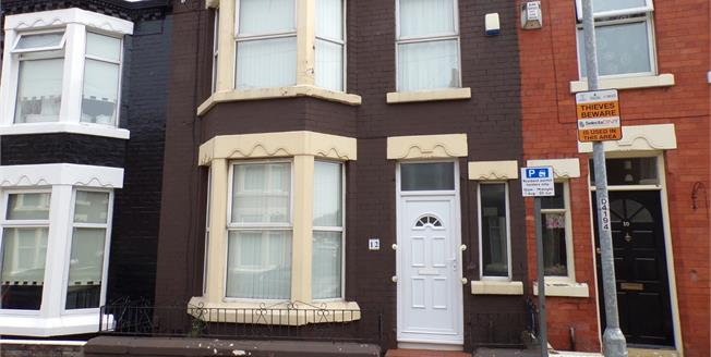 Offers Over £65,000, 3 Bedroom Terraced House For Sale in Anfield, L4