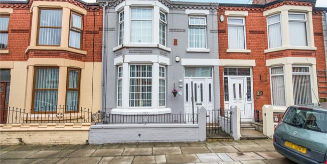 Offers Over £110,000, 3 Bedroom Terraced House For Sale in Liverpool, L4
