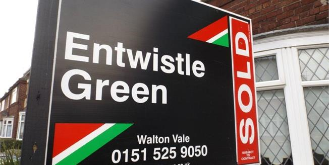 Asking Price £140,000, 3 Bedroom Semi Detached House For Sale in Walton, L9