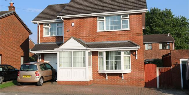 Offers Over £165,000, 3 Bedroom Detached House For Sale in Ince, WN2
