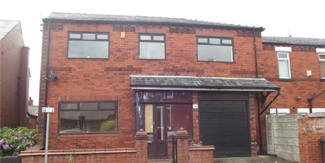 Asking Price £135,000, 3 Bedroom Detached House For Sale in Wigan, WN1