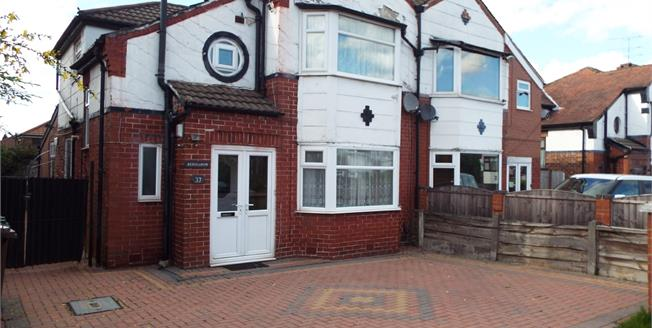 Offers Over £225,000, 4 Bedroom Semi Detached House For Sale in Prestwich, M25