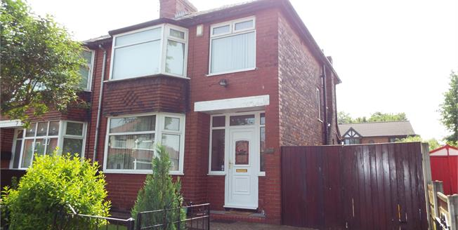 Offers Over £150,000, 3 Bedroom Semi Detached House For Sale in Whitefield, M45