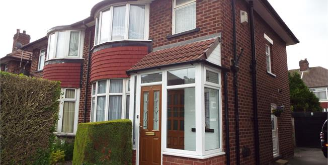 Offers Over £140,000, 3 Bedroom Semi Detached House For Sale in Whitefield, M45