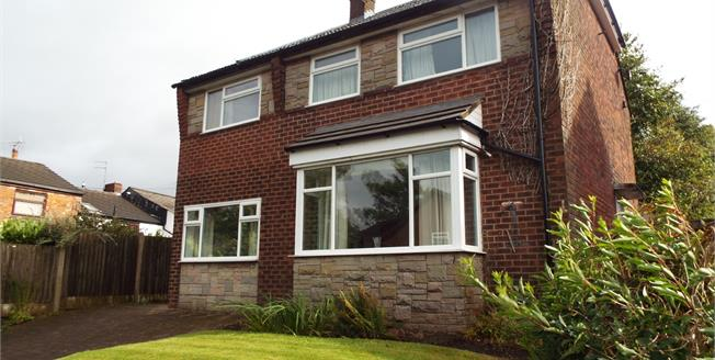 Offers Over £240,000, 4 Bedroom Detached House For Sale in Prestwich, M25