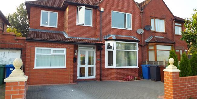 Asking Price £280,000, 5 Bedroom Semi Detached House For Sale in Prestwich, M25