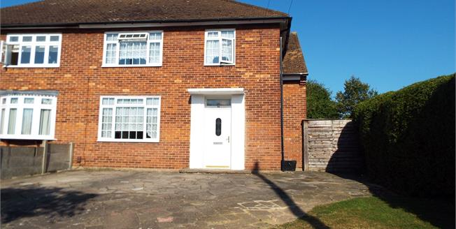 Asking Price £475,000, 3 Bedroom Semi Detached House For Sale in Chigwell, IG7