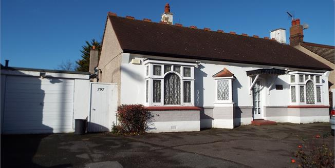 Asking Price £575,000, 3 Bedroom Detached Bungalow For Sale in Ilford, IG6