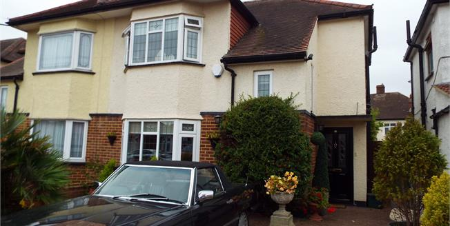 Asking Price £485,000, 3 Bedroom Semi Detached House For Sale in Ilford, IG6
