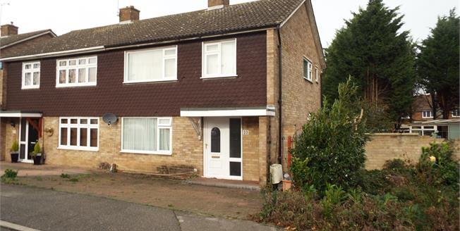 Asking Price £260,000, 3 Bedroom Semi Detached House For Sale in Basildon, SS14