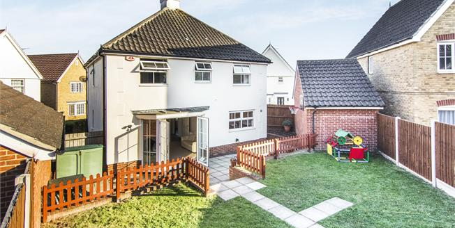 Guide Price £425,000, 4 Bedroom Detached House For Sale in Laindon, SS15