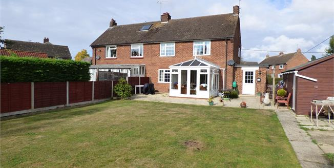 Asking Price £500,000, 4 Bedroom Semi Detached House For Sale in Felsted, CM6