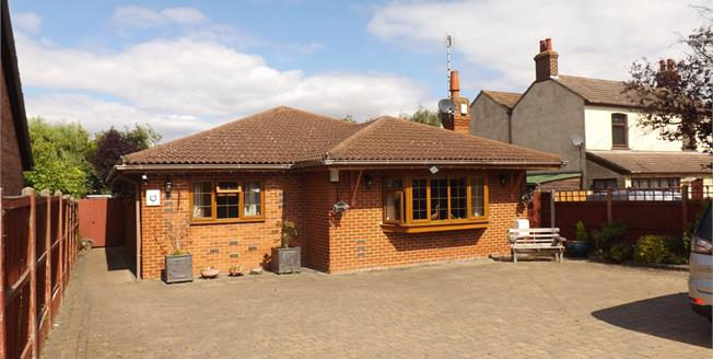 Offers in the region of £425,000, 4 Bedroom Detached Bungalow For Sale in Mayland, CM3