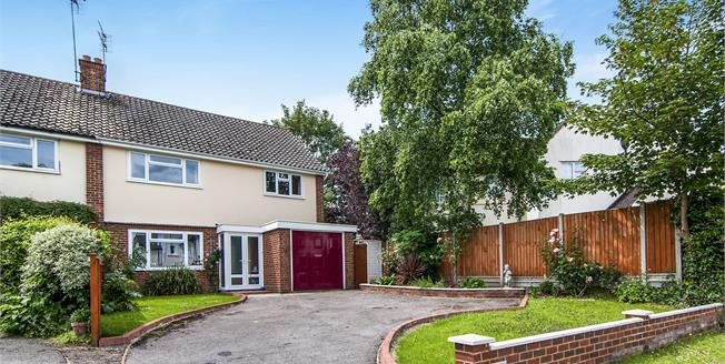 Guide Price £525,000, 4 Bedroom Semi Detached House For Sale in Chelmsford, CM2