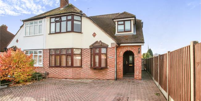 Guide Price £500,000, 3 Bedroom Semi Detached House For Sale in Chelmsford, CM2