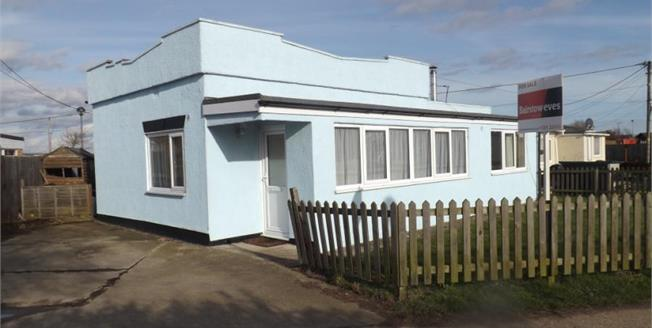 Offers in excess of £110,000, 2 Bedroom Detached Bungalow For Sale in Point Clear Bay, CO16