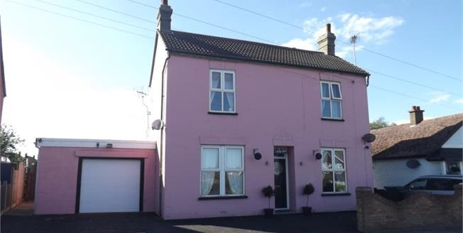 Asking Price £270,000, 3 Bedroom Detached House For Sale in Clacton-on-Sea, CO15