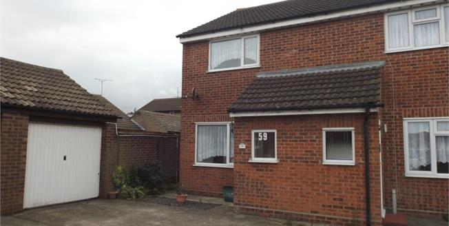 Asking Price £165,000, 2 Bedroom Semi Detached House For Sale in Clacton-on-Sea, CO16