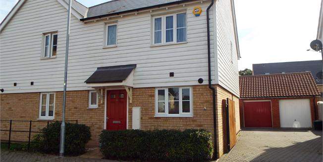 Offers in excess of £240,000, 3 Bedroom Semi Detached House For Sale in Colchester, CO2