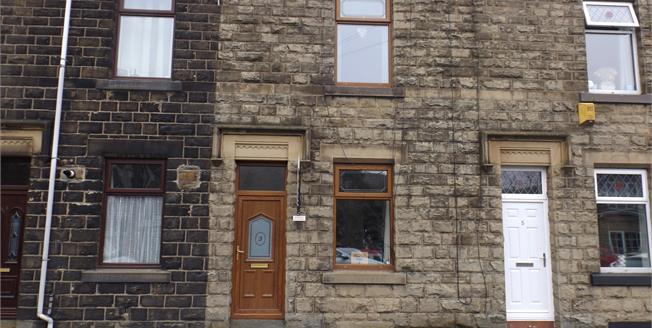 Offers in the region of £79,950, 2 Bedroom Terraced Cottage For Sale in Whitworth, OL12