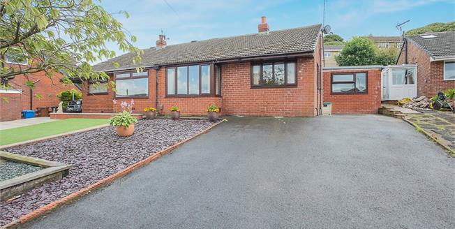 Offers Over £140,000, 2 Bedroom Semi Detached Bungalow For Sale in Rossendale, BB4