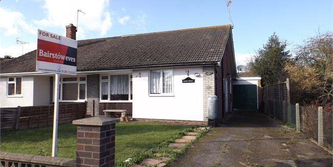 £250,000, 3 Bedroom Semi Detached Bungalow For Sale in Mile End, CO4