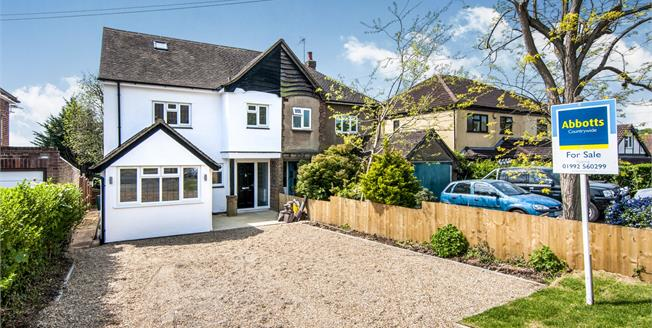 Asking Price £700,000, 4 Bedroom Semi Detached House For Sale in Epping, CM16