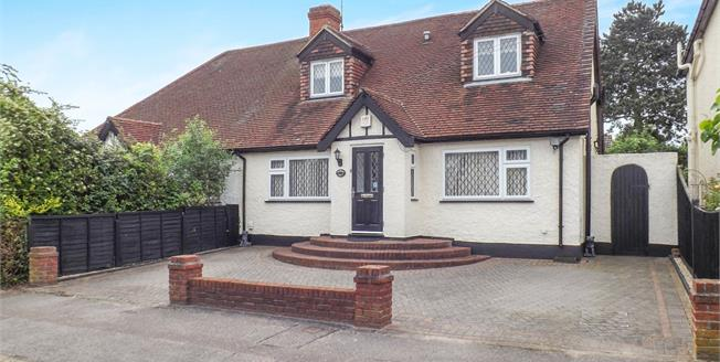 Asking Price £800,000, 4 Bedroom Semi Detached Bungalow For Sale in Epping, CM16