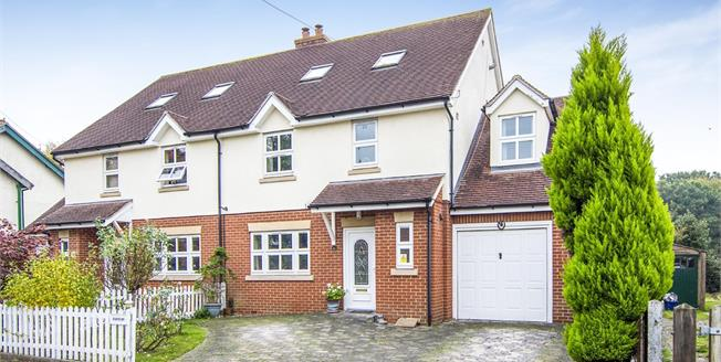 Asking Price £550,000, 4 Bedroom Semi Detached House For Sale in Coopersale, CM16