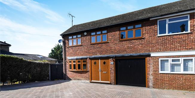 Asking Price £775,000, 3 Bedroom Semi Detached House For Sale in Gilston, CM20