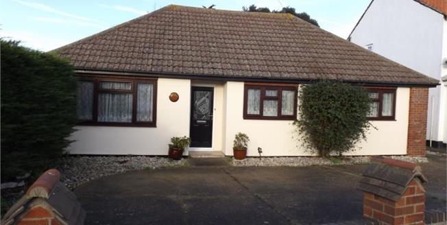 Asking Price £260,000, 3 Bedroom Detached Bungalow For Sale in Kirby Cross, CO13