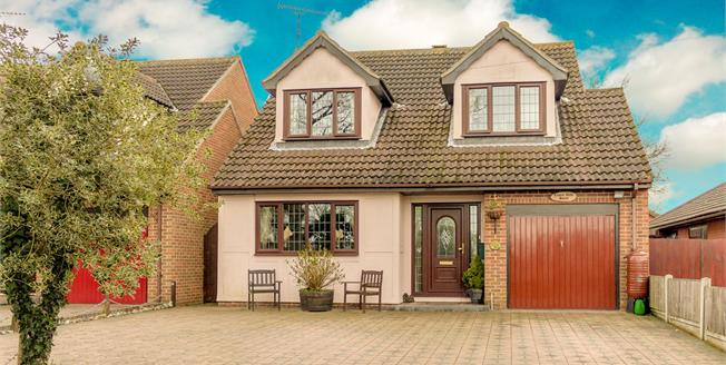 Asking Price £485,000, 4 Bedroom Detached House For Sale in Hullbridge, SS5