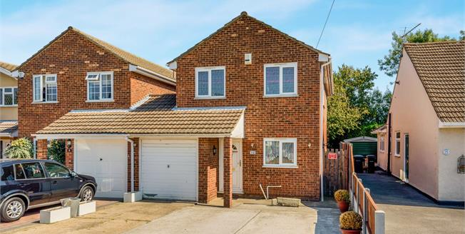 Offers in excess of £325,000, 4 Bedroom Link Detached House For Sale in Hullbridge, SS5