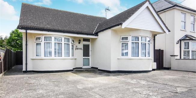 Offers Over £475,000, 3 Bedroom Detached Bungalow For Sale in Benfleet, SS7