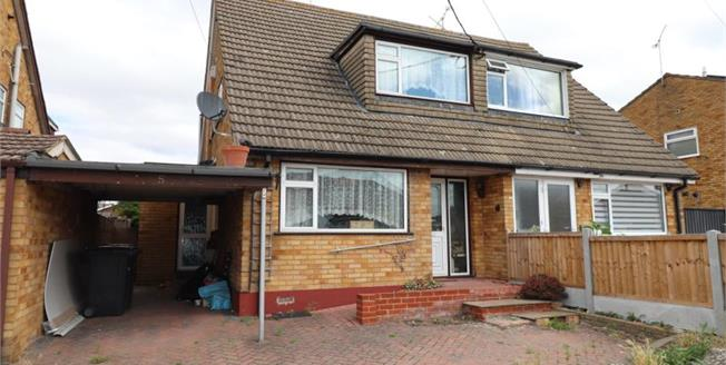 Asking Price £340,000, 3 Bedroom Semi Detached House For Sale in Hullbridge, SS5