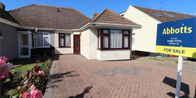 £290,000, 2 Bedroom Semi Detached Bungalow For Sale in Benfleet, SS7