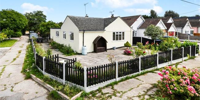 Offers Over £400,000, 3 Bedroom Detached Bungalow For Sale in Hullbridge, SS5